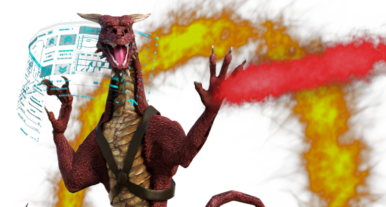 Dragon of Ty Attacking
